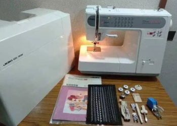 Juki Hzl 7600 Model Sewing Machine