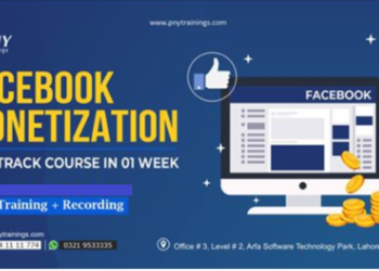Facebook Monetization Fast Track Course 1 Week