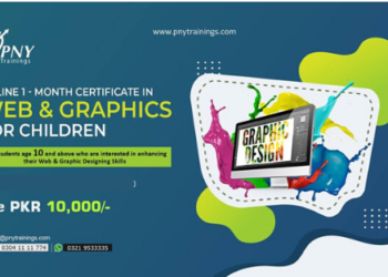 Online Month Certificate in Web & Graphics for Children!