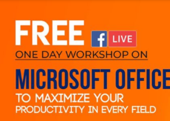 free one day workshop on microsoft office