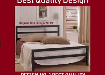 New Iron Bed Queen Size Lowest Rate