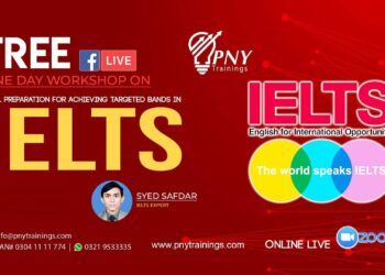 Free One Day Workshop on IELTS