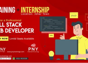 Become a Professional Full Stack Web Developer – Internship + Training