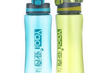 Set of 2 Sports Water Bottles/ High Quality & Design