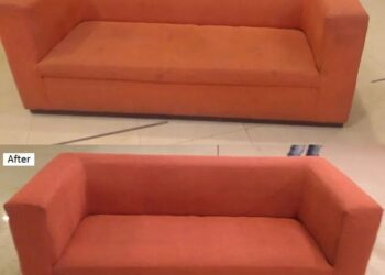 Lather fabric sofa chair Wash clean service Karachi
