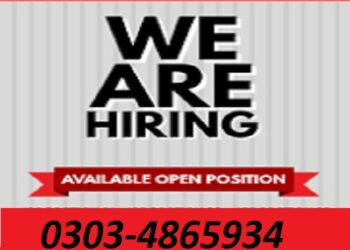 required male and female staff