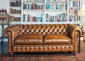 Chesterfield 6 seater sofa set