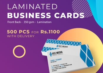Flyers and business cards printing