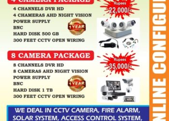 CCTV system (IP and Analog)