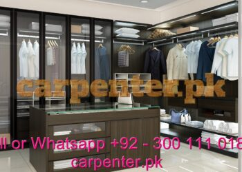 Best carpenter for wardrobes cupboards UV, PVC, Acrylic, and all types