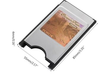 COMPACT FLASH CARD PCMCIA adapter Type II & Type I