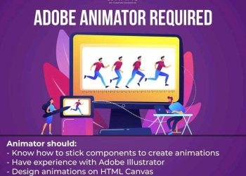 Adobe animator required