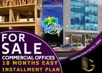 Commercial Offices For Sale In Dha City Karachi