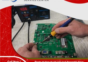 Shah Electronics Service Center led lcd tv screen repair in Karachi