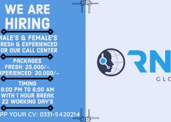 We Are Hiring Male & Females for Call Center