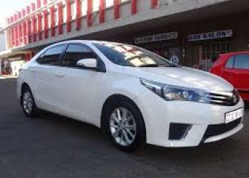 Toyota corolla manual 2014 model for rent