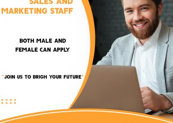 Hiring staff in sales and marketing.