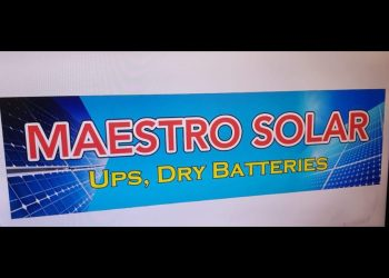 Maestro Solar, UPS and Dry Batteries