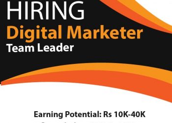 Digital Marketer Team Leader