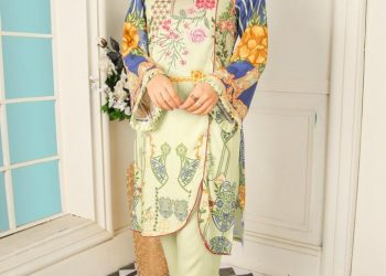 Latest 2 piece stitched suit for ladies | Shirt and Dupatta